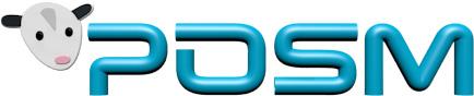 2017 POSM 3D Logo Realistic Icon 500x150